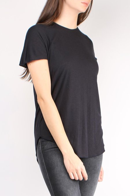 Cathrine Hammel Wool Jersey Tee Shirt - Ink Blue