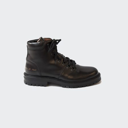 Woman by Common Projects Hiking Boot - Black
