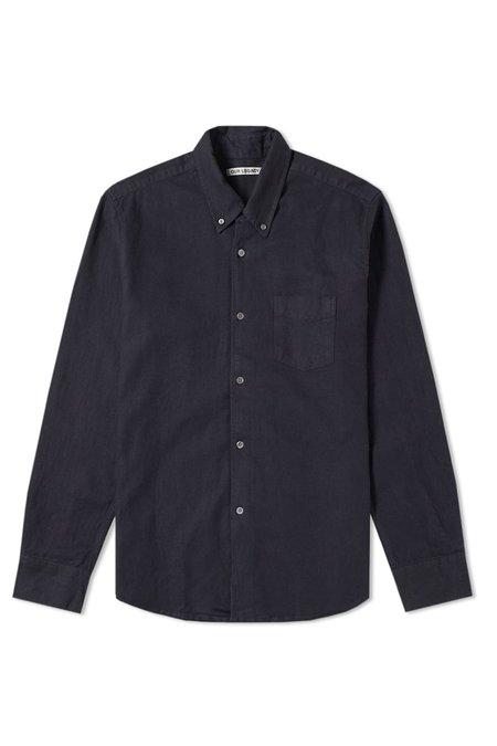 Our Legacy 1950 Shirt - Vintage Black Navy Tint