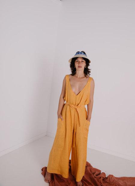 Little Tienda Julieta Jumpsuit - Marigold