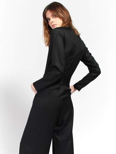 Combine de Filles Le Marlene Jumpsuit - Black