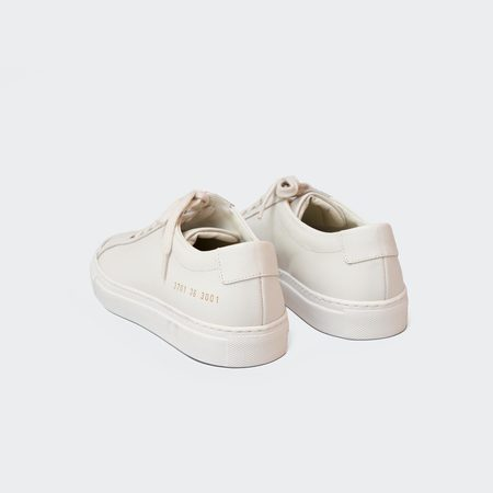 Woman by Common Projects Original Achilles Low Shoes - Warm White