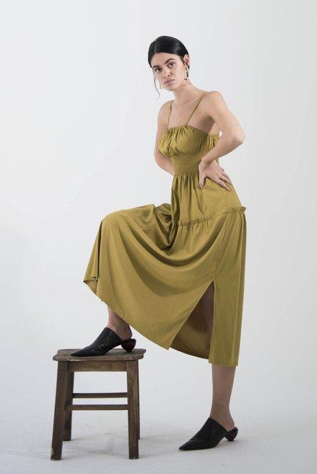 OhSevenDays Tuesday Greyday Dress - Green