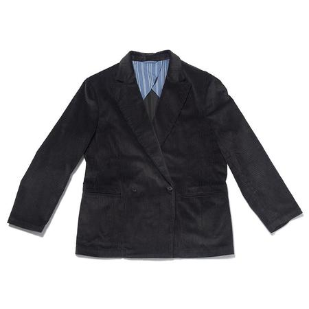 S.K. Manor Hill Darwin Corduroy Blazer - Black