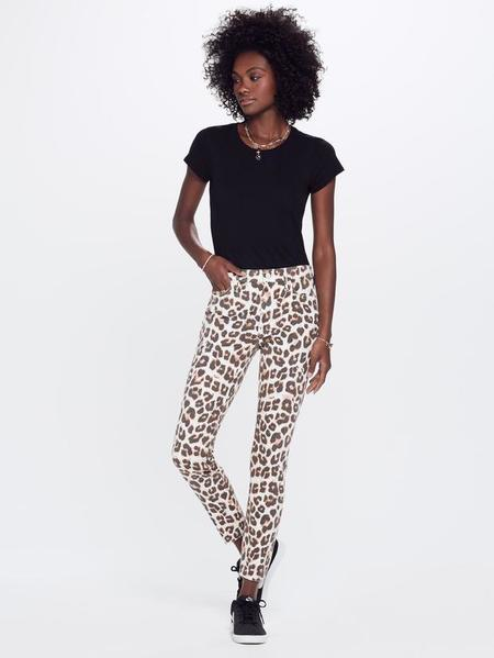 Mother Denim Mother Touch Of Tiger Pants - Leopard