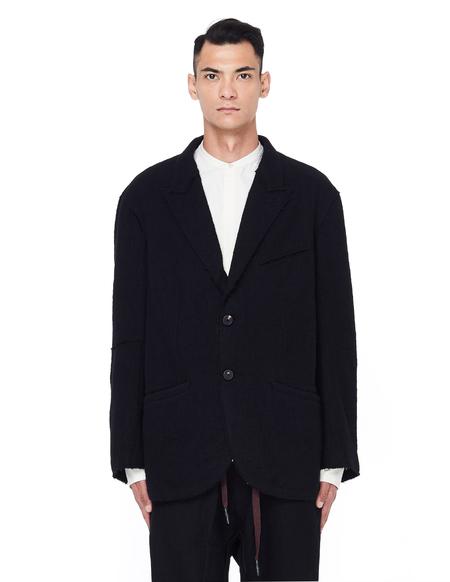 Ziggy Chen Wool Jacket - Black