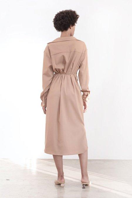 Shaina Mote Georgia Dress - Camel