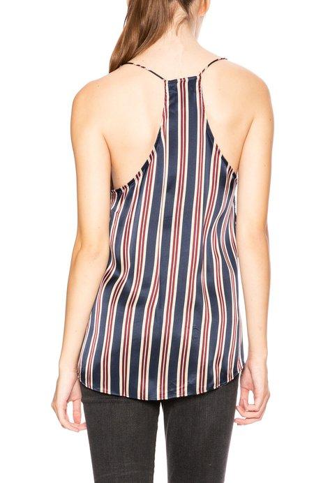 Cami NYC Racer Stripe Cami - Ink Stripe