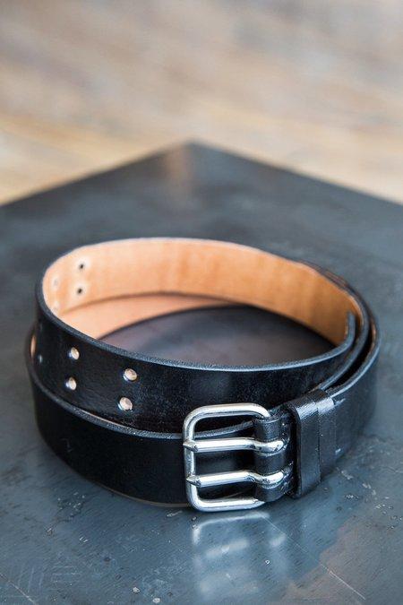 A Détacher Leather Ansel Belt - black