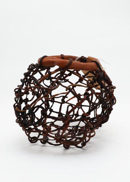 Lina Prairie Kelp Globe - Dark Brown