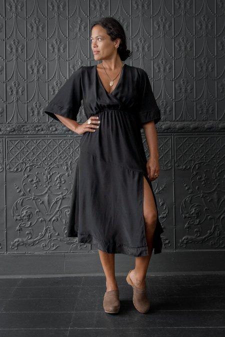 Natalie Martin Coco Dress - BLACK