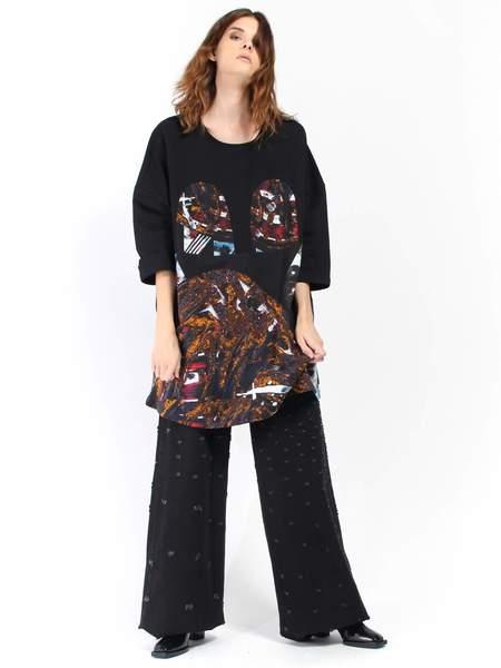 R/H Mickey Square Dress - Laulu Print