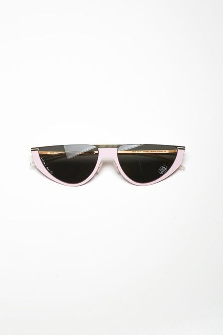 Mykita Selina Sunglasses - Pale Pink/Gold