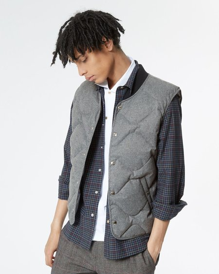 Maison Kitsune Water Repellent Captain Down Vest