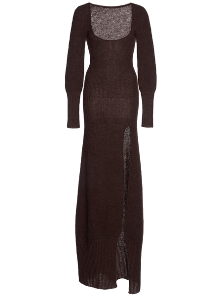 Jacquemus La Robe Dao - Dark Brown
