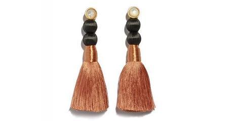 Lizzie Fortunato Modern Craft Earrings - Rose