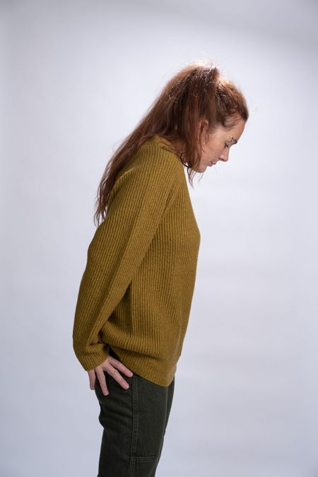 No.6 Darwin Wool Sweater - Mustard