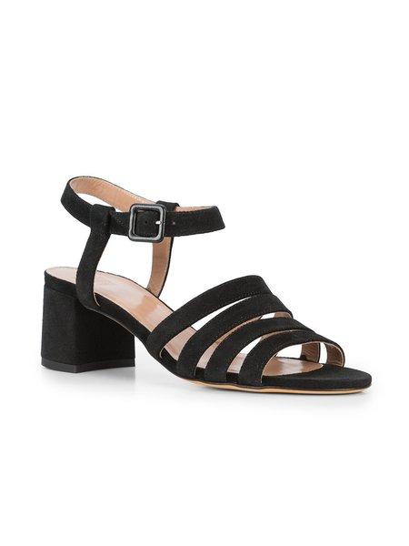 Maryam Nassir Zadeh Palma Strappy Block Heel Sandals - Black