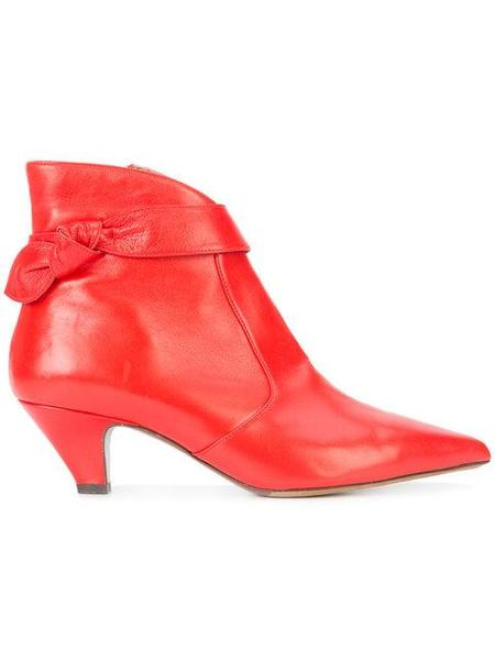 Tabitha Simmons Nixie Bootie - Red Nappa