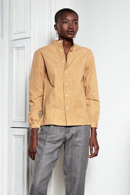 Unisex Blluemade Monk Shirt - Citrine