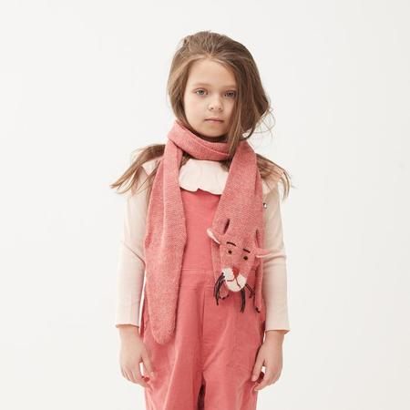 KIDS Oeuf NY Child Scarf Pink Panther - Rose Pink