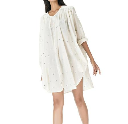 Aish Life Udit French Top - Ivory