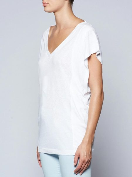 Brochu Walker Sawtelle Tee - Salt White
