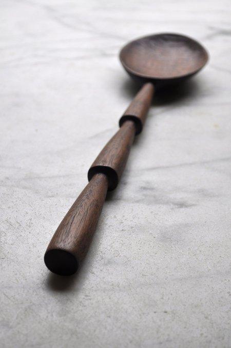 Four Leaf Wood Shop Walnut Three Tiered Spoon