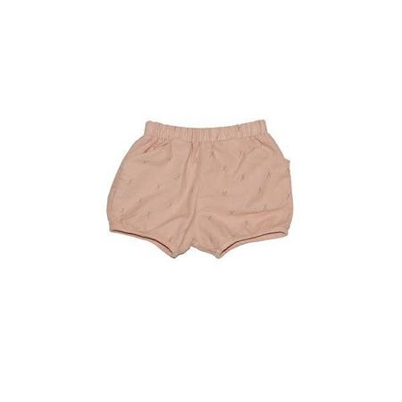 Kids Go Gently Nation Flannel Short - Taupe