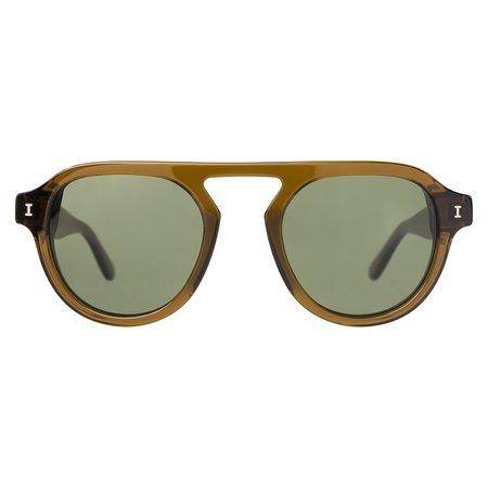 Illesteva Bergen II - Seaweed/Olive Lenses