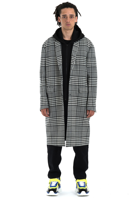 Juun.J Detachable Hood Coat