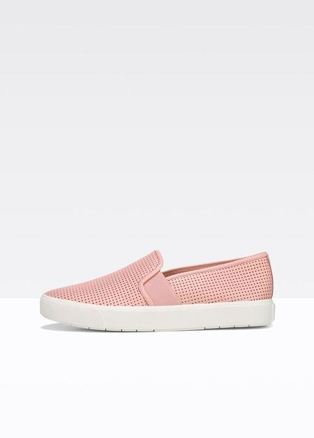 Vince Blair 5 Perforated Leather Sneaker - Pink