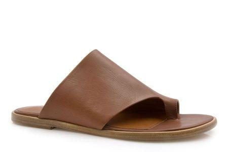 Vince Edris Leather Sandal - Cognac