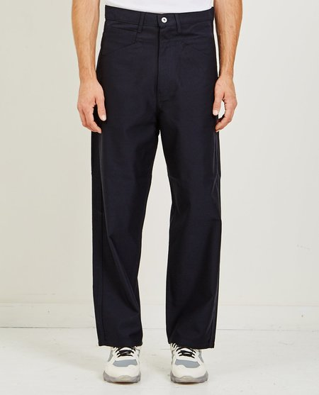 Junya Watanabe Comme des Garçons Wool Blend Pants - Navy