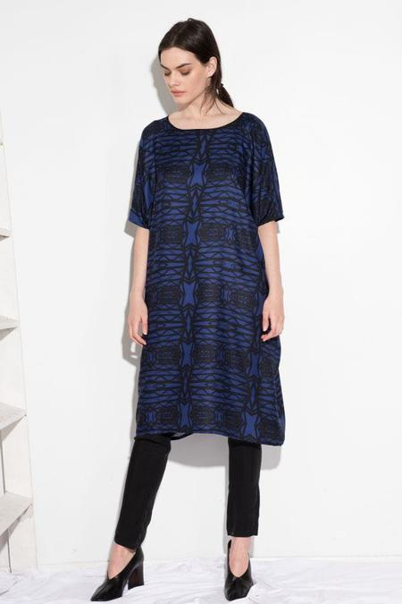 H. Fredriksson Tunic Dress - Blue Ridge
