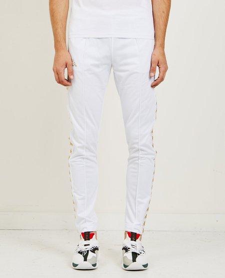 Kappa 222 Banda Astoria Slim Track Pants -White