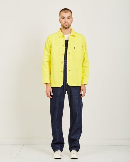 Levi's Made & Crafted Poggy Sack Coat - Yellow