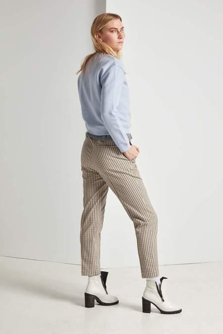 Frisur Tekla Drawstring Trouser - Plaid