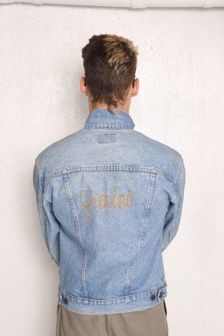 """Intentionally __________."" Vintage Archive Gemini Jean Jacket"