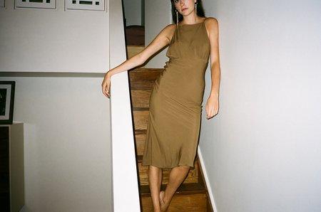 Toit Violant Cherie Dress - Taupe