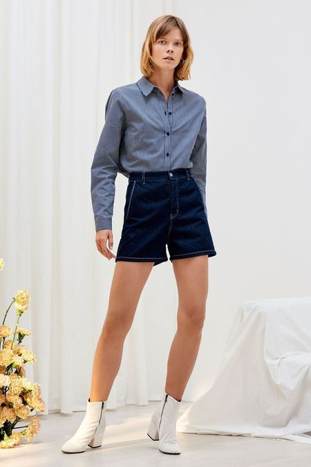 Kowtow Ray Shorts - Dark Denim
