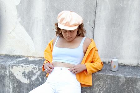 Clyde Kingston Hat - Peach