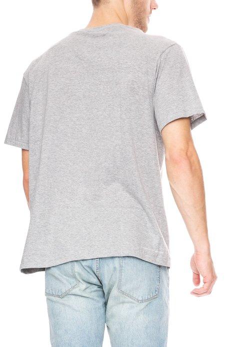 Julien David Solid T-Shirt - Grey Melange