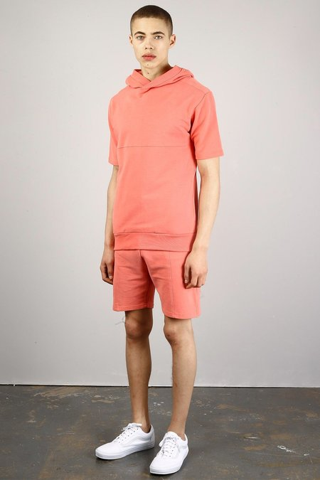 Native Youth AMAZON HOODIE - coral