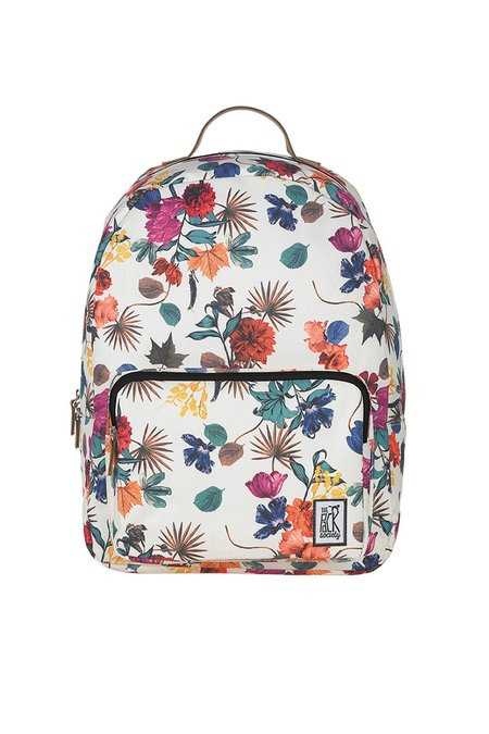 UNISEX The Pack Society CLASSIC BACKPACK - MULTICOLOR FLOWER