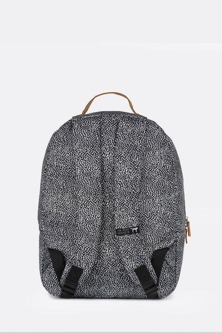 UNISEX The Pack Society CLASSIC BACKPACK - OFF WHITE/BLACK DOT