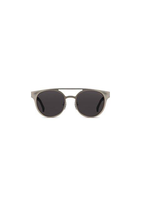 Unisex KOMONO Finley Sunglasses - Silver Boutique