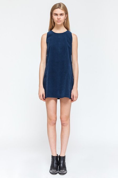 Native Youth ISOBAR DRESS - blue