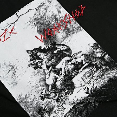 032C Bärenhetz T-Shirt - Black