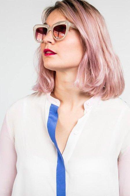 KOMONO Stella eyewear - Clear Demi
